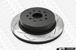 DBA Brakes 2013 Hyundai Gencoupe Track R-Spec Slotted Front Rotor