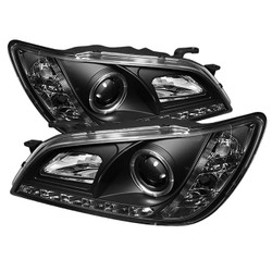 Spyder Projector Headlights - Xenon/HID Model Only (444-LIS01-HID-DRL) - Lexus IS300 2001-05