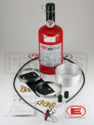 (H) FireBottle 5lb. Halon Pull System, Compact