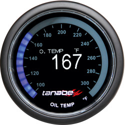 Tanabe Revel VLS OLED 52mm Oil Temperature Gauge