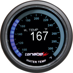 Tanabe Revel VLS OLED 52mm Water Temperature Gauge