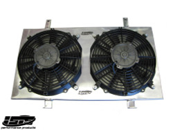 ISR Peformance Radiator Fan Shroud Kit - 89-94 Nissan S13 KA24DE