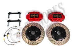 Brembo GT  Black Rear Drilled Big Brake Kit - FR-S/BRZ