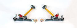 TECHNO TOY TUNING - GTX2 FRONT LOWER CONTROL ARMS AND TC RODS THE AE86 COROLLA