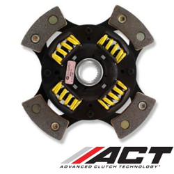 ACT 4 Pad Sprung Race Disc Clutch Kit - 84-96 Nissan 300ZX