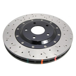 DBA 5000 Drilled and Slotted Front Disc Brake Rotor - 09-12 Nissan 370Z