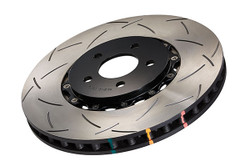 DBA 5000 Series T3 Drilled and Slotted Front Disc Brake Rotor - 09-12 Nissan 370Z