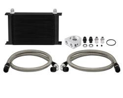 Mishimoto Oil Black Cooler Kit - 03-09 Infiniti G35 / Nissan 350Z