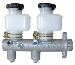 "Wilwood Tandem Remote Master Cylinder 1.00"" Bore Size"