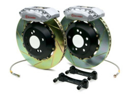 Brembo Silver Front Slotted Big Brake Kit - 99-02 Nissan Skyline GT-R R34