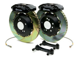Brembo Black Rear Slotted Big Brake Kit - 99-02 Nissan Skyline GT-R R34
