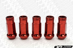 MUTEKI SR48 Open Ended Racing Lug Nut - RED