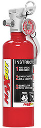 Maxout H3R Dry Chemical Fire Extinguishers 1.0 Pound - RED