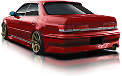 Origin Toyota Mark II Stream Line Rear Bumper - JZX100