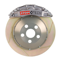StopTech Front Trophy Anodized Slotted Coated Big Brake Kit - 2006 BMW M3 E90/E92