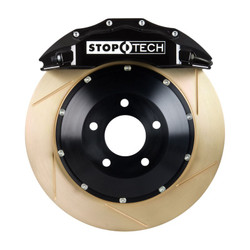 StopTech Black Front Slotted Coated Big Brake Kit - 2006 BMW M3 E90/E92