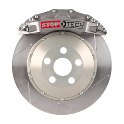 StopTech Trophy Anodized Front Slotted Big Brake Kit 355x32mm - 2006 BMW M3 E90/E92