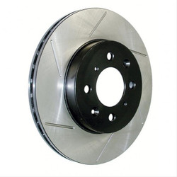 StopTech Front Slotted Brake Rotors - 03-06 BMW M3 E46