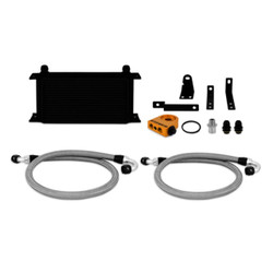 Mishimoto Black Non-Thermostatic Oil Cooler Kit - 00-09 Honda S2000