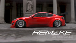 REMAKE 2013+ Hyundai Genesis Coupe Wide Bodykit