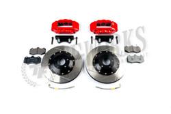 AP Racing Radi-CAL 6-Piston Front 6-Piston Drilled/Slotted Big Brake Kit - Nissan 350Z Z33