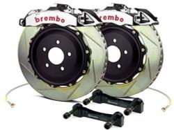 Brembo GT-R Rear Slotted Big Brake Kit - 08-15 Mitsubishi Evolution X