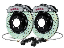 Brembo GT-R Front Drilled Big Brake Kit - 08-15 Mitsubishi Evolution X