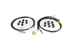 GKTECH - S13/S14 Stainless Steel Braided Teflon ABS Delete Kit (LHD)