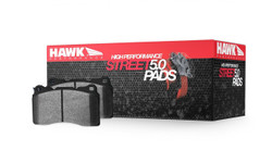 Hawk Performance HPS 5.0 Disc Rear Brake Pads - 86-95 Mazda RX-7
