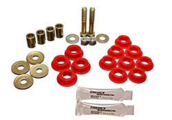 Energy Suspension Red Front End Link Kit - 86-88 Mazda RX-7
