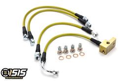 ISR Performance Brake Lines (Sport Suspension 4 Line kit) - 01-05 Mazda Miata NB