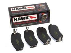 Hawk Rear HP Plus Brake Pads - 06-14 Mazda MX-5 Miata
