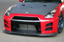 Charge Speed 2007-2015 Nissan GTR Hybrid Matte Carbon w/ FRP Front Bumper