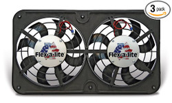 Flex-a-lite Low-Profile S-Blade Electric Fan - 92-00 Lexus SC300/SC400