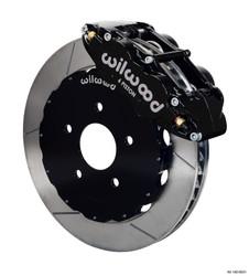 Wilwood Forged Narrow Superlite 6R Big Brake Front Brake Kit - 99-12 Subaru Impreza WRX / STI