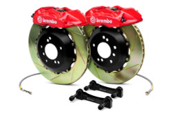 Brembo GT Red Front Slotted Brake Kit 355x32mm - 07-08 Infiniti G35 / 08-13 G37, 09-16 Nissan 370Z