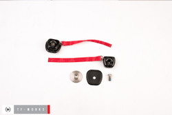 NecksGen REV Head & Neck Restraint - Helmet Hardware Kit