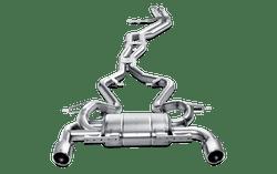 Akrapovic Evolution Line (Titanium) - 07-12 BMW 335i (E90)