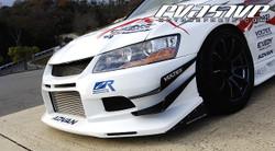 Voltex Front Bumper Street - 03+ Mitsubishi EVO 8 / 9