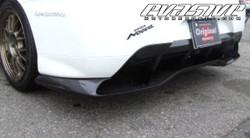 Voltex Rear Diffuser / Undertray - 03+ Mitsubishi EVO 9