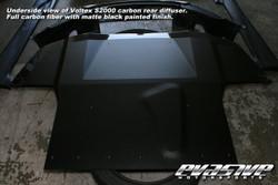Voltex Rear Diffuser - 04-09 Honda S2000 AP2