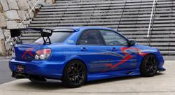 Voltex Side Step - 04-07 Subaru Impreza WRX / STi