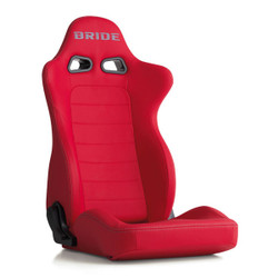 Bride Euroster II Premium Reclinable Seat in Red Protein Leather