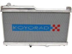 Koyo Aluminum Racing Radiator - 93-95 Mazda RX-7 1.3L Turbo