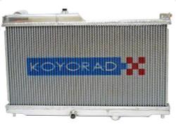 Koyo Aluminum N-Flow Dual Pass Racing Radiator - 93-95 Mazda RX7 (FD3S)