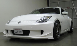 ASM I.S. Design Front Canard Set for Aero Bumper - 03-08 Nissan 350Z / Z33