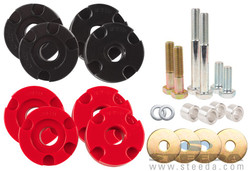 Steeda S550 Mustang Adjustable Differential Bushing Insert System - Urethane - 2015 Ford Mustang GT/Ecoboost