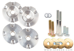 Steeda S550 Mustang Race Differential Bushing Insert System - Aluminum - 2015 Ford Mustang(All)