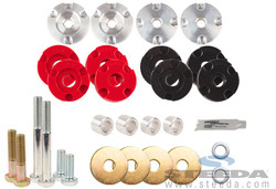 Steeda S550 Mustang Differential Bushing Insert System - Street to Full Race Combo Kit - 2015 Ford Mustang GT