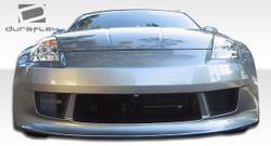 Duraflex 1-Piece V-Speed Front Bumper Cover - 03-08 Nissan 350Z
